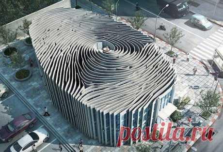 Таиланд,здание в виде отпечатка пальца