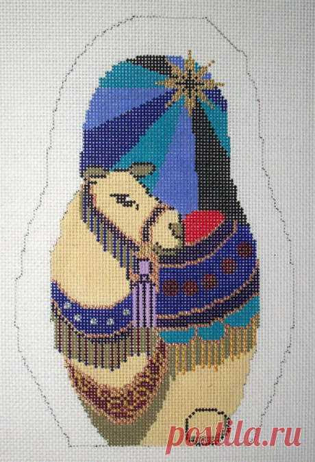 Nesting Nativity – Camel Adorable high-quality Nesting Nativity - Camel. The Needlepointer is a full-service shop specializing in hand-painted canvases, thread fibers, needlepoint books, accessories, needlepoint classes and much more.