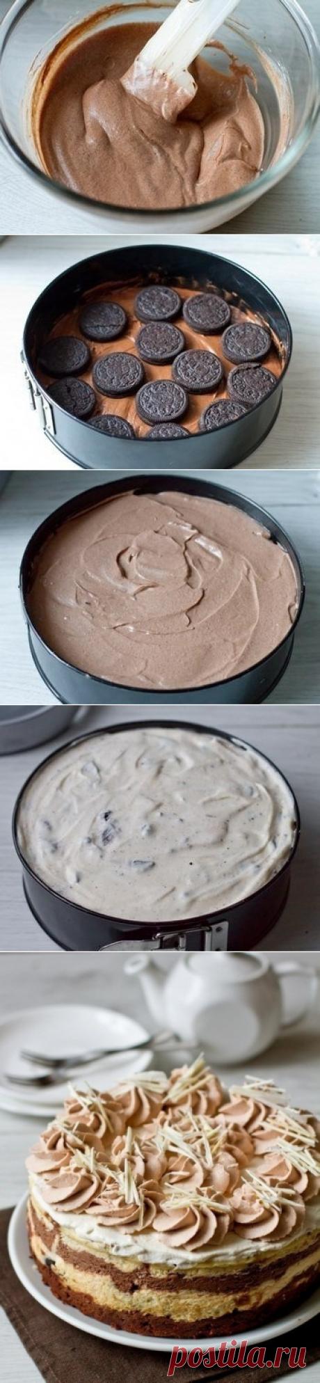 """Как приготовить чизкейк """"шоколадное безумие"""" - рецепт, ингредиенты и фотографии"""
