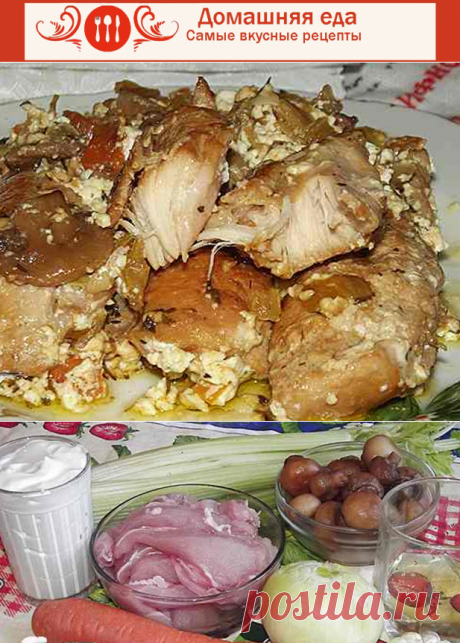 #КроликТушеныйВСметане for a holiday table – a refined and tasty dish\u000d\u000aRabbit stewed in sour cream – an excellent dish for a holiday table. The rabbit was always considered as a dish for gourmets, – almost a hare.