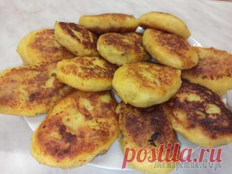 Картофельные зразы с мясом. Картофельные пирожки