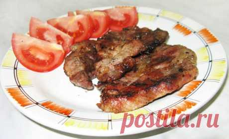 Pork shish kebab with a lemon - the recipe with a photo step by step