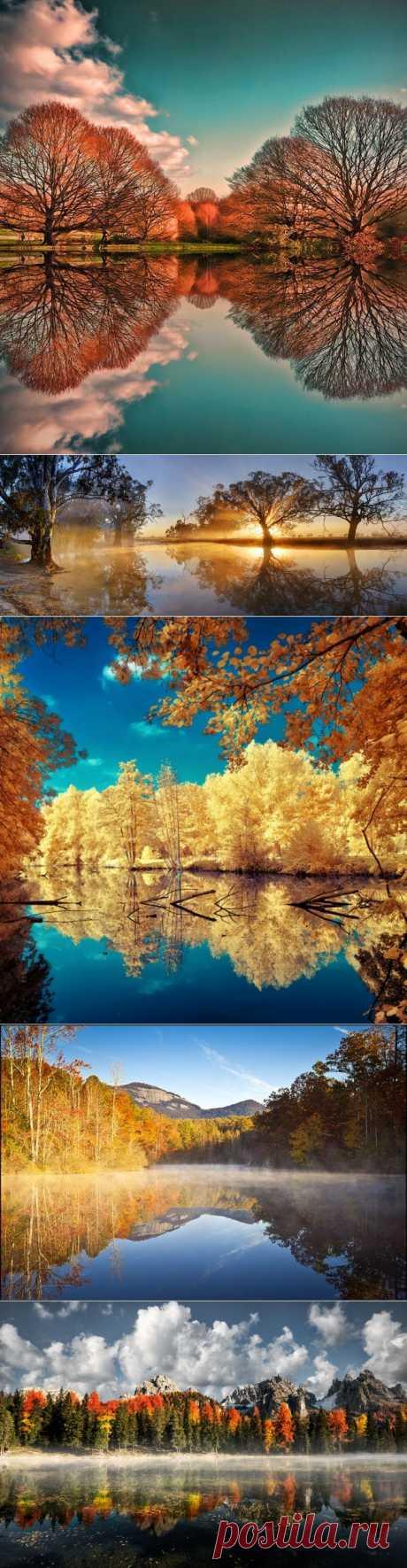 Mirror landscapes