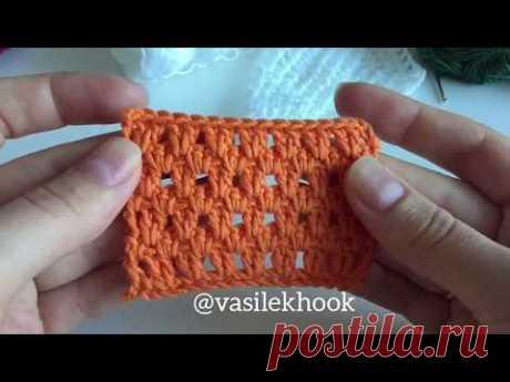 Легкий узор крючком для вязания  кардигана, кофты и пальто