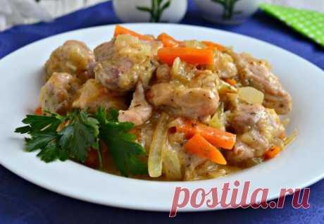 Фрикасе из кролика — Sloosh – кулинарные рецепты