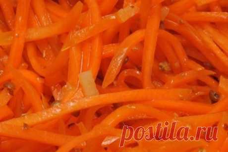 La zanahoria sovetsko-coreano