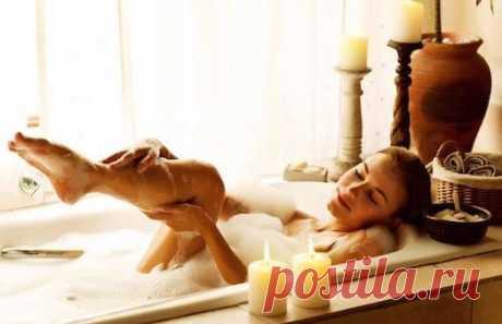 Как правильно принимать антицеллюлитные ванны?