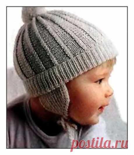 Как связать шапку для ребенка крючком »