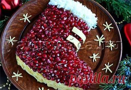 Рецепт вкусного новогоднего салата с курицей - Пошаговые рецепты с фото
