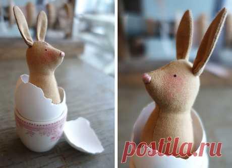 Пасхальный кролик тильда – выкройка и мастер класс. - Тильда Мастер (тильдамастер)