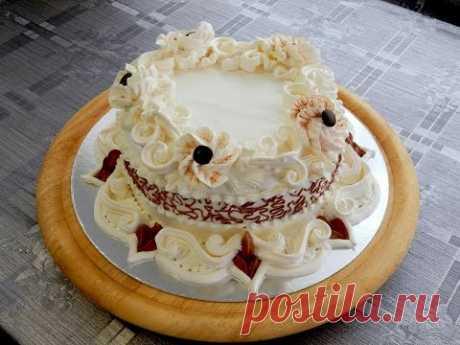 ADORNAMIENTO de las Tortas - la Torta la Elegancia. Cake decoration