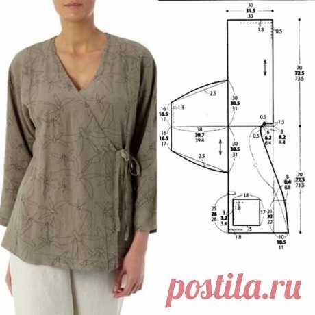 #Блузка@sewingschoolalbinaskripka на 46,48,50 размеры