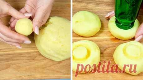 Рецепт картофельных грибов - Со Вкусом