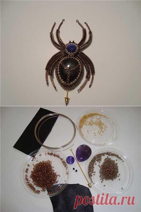 Плетение паука / Бисер / PassionForum - мастер-классы по рукоделию