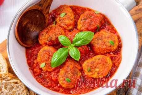 Подлива из томатной пасты к котлетам и макаронам