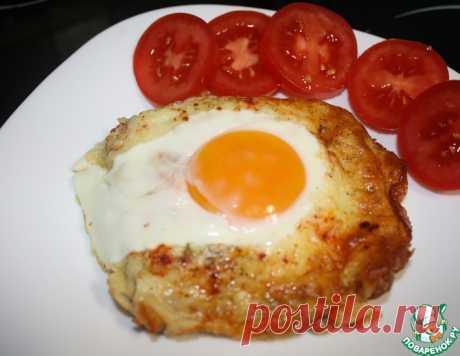 Горячий бутерброд с сыром и яйцом – кулинарный рецепт