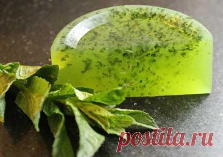Полезное травяное мыло