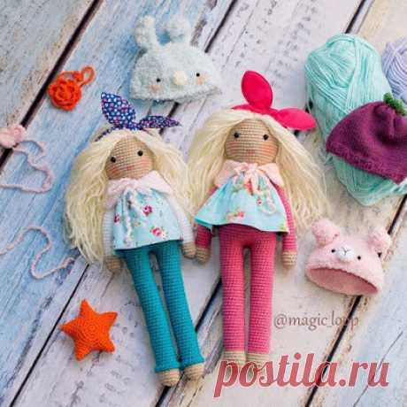 Вязаная кукла Матильда | 1000 схем амигуруми на русском