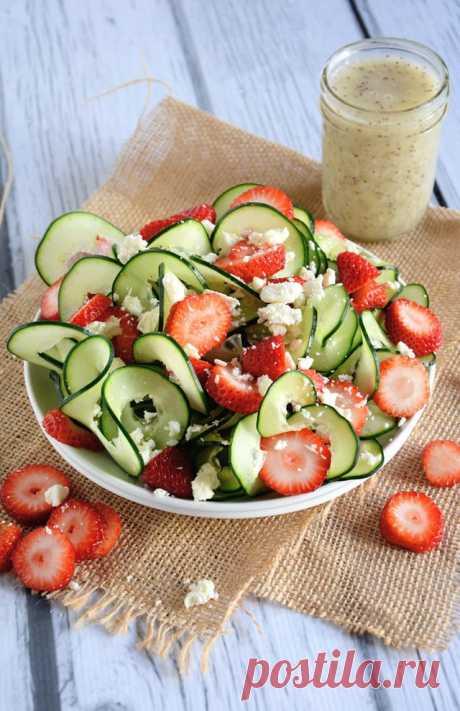 12 вкусных салатов для лета