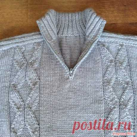 """Sweater\/jumper. We knit """"ирландским"""" by method. - Country of Mothers"""