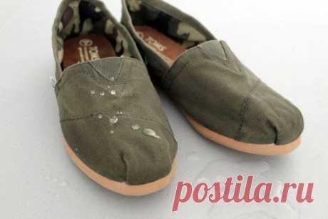 Как сделать свою обувь непромокаемой | Хитрости Жизни