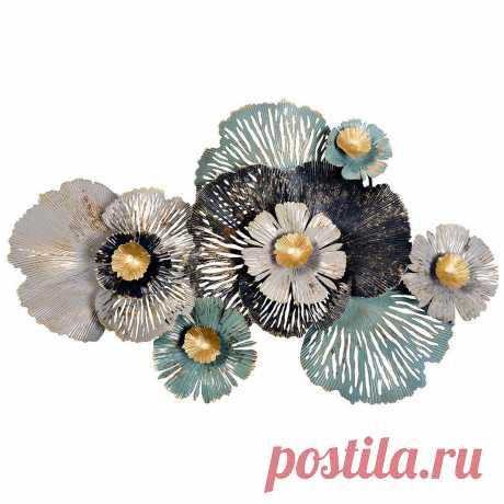 """Декор настенный """"Цветы"""" - купить за 7700 руб. в интернет-магазине DG-Home"""