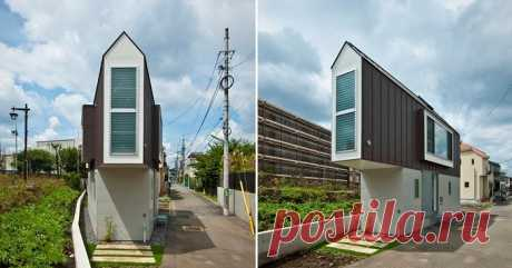 This house in Japan seems very narrow and small, but inside it looks absolutely in a different way | the Darling I the Narrow house in Japan In the modern world the housing problem is particularly acute very much. Each person dreams of buying, let and the small, but own house. But today, alas, it is not always possible. Not only that in big cities the housing costs rather much, so also there is a problem with the place: it is rather difficult to architects and designers to find good a ploshch...