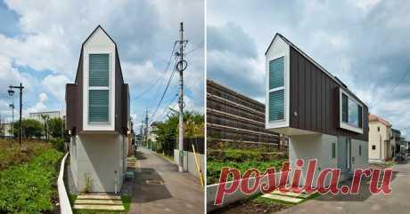Этот дом в Японии кажется очень узким и маленьким, но внутри он выглядит совсем по-другому | Милая Я Узкий дом в Японии В современном мире квартирный вопрос стоит очень остро. Каждый человек мечтает о том, чтобы купить, пусть и небольшой, но свой собственный дом. Но сегодня, увы, это не всегда возможно. Мало того, что в больших городах жилье стоит достаточно дорого, так еще и существует проблема с местом: архитекторам и проектировщикам достаточно сложно найти хорошую площа...