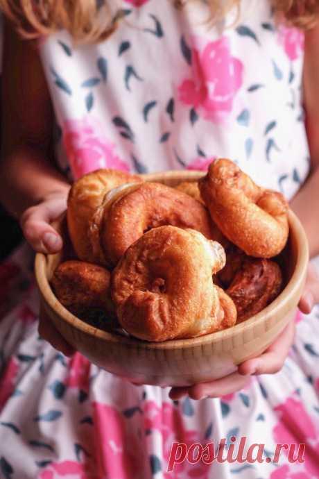 Пончики на закваске — Изящество кулинарии