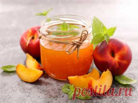 Персиковый джем — Sloosh – кулинарные рецепты