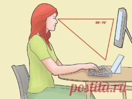 Как защитить спину от болей при сидячей работе.