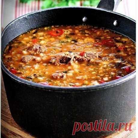 Острый суп «Харчо» | Самые вкусные кулинарные рецепты