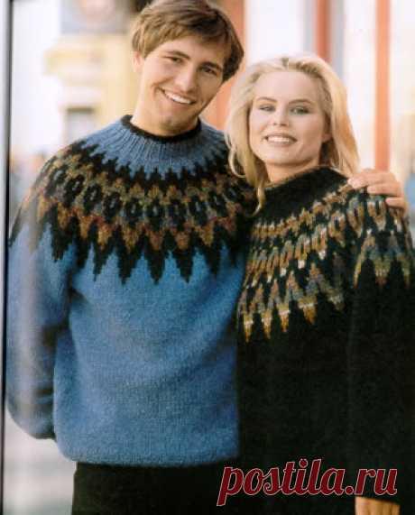 Lopapeysa - the Icelandic sweater