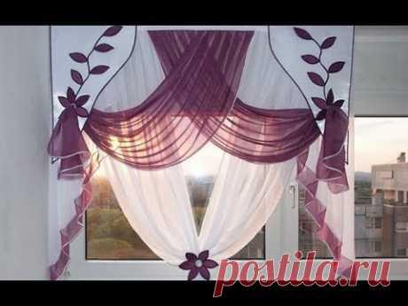 Обновляем интерьер к весне / более 52 способов красиво повесить шторы