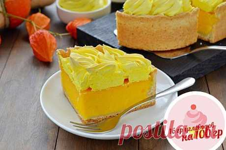 Пирог с нежным тыквенным кремом и безе Необычный и яркий рецепт - пирог с нежным тыквенным кремом и безе. Это очень вкусно и к тому же просто!