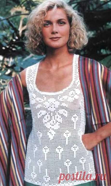 А вы ещё не влюбились в филейное вязание? | Asha. Вязание и дизайн.🌶 | Яндекс Дзен