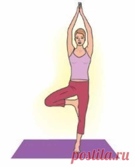 4 poses de los yoga del estrés y el cansancio