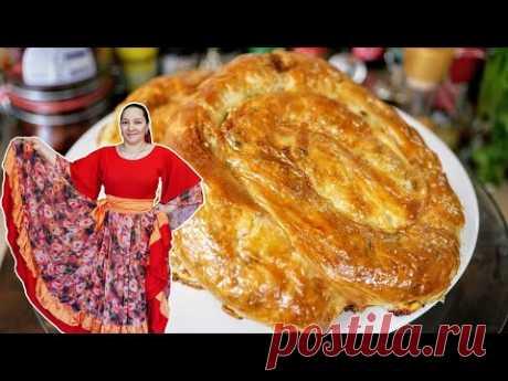 Любимая выпечка ВСЕХ ЦЫГАН, цыганка готовит. Плацинды.