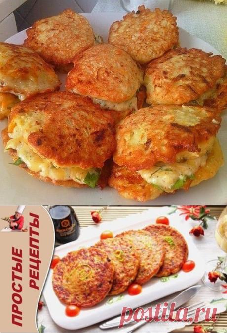 Оладьи из кабачков с сыром и чесноком + видио рецепты  =1 средний кабачок  -1 яйцо 50 гр. натертого сыра  -зубок чеснока  -1 ст.л. муки  -соль, перец