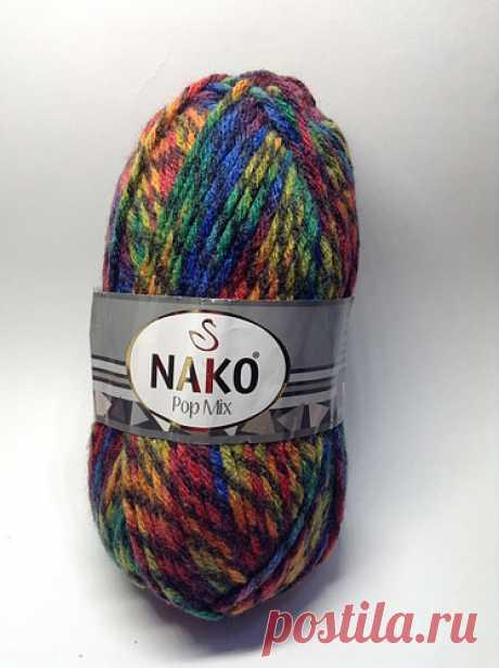 Пряжа pop mix Nako (25% шерсти), цена 50 грн., купить в Харькове — Prom.ua (ID#1083818430)