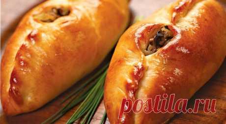 Расстегаи с грибной начинкой. Пошаговый рецепт с фото на Gastronom.ru