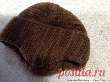 """Универсальная шапочка спицами """"1898 Hat"""" by Kristine Byrnes"""