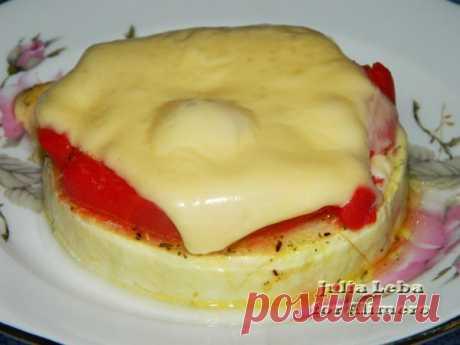 Мини пицца на кабачке / Рецепты с фото