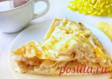 Пирог «Улитка» с творогом и бананом Автор рецепта Альбина Маслова - Cookpad