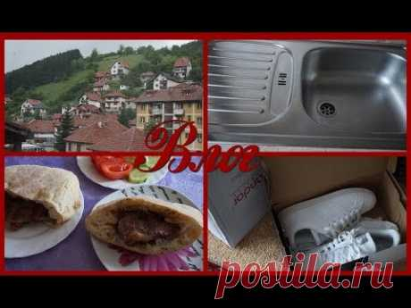 Домашний влог,как почистить мойку из нержавейки, распаковка посылки - YouTube
