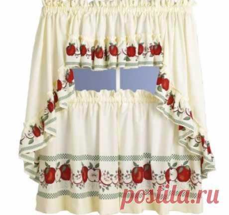Как сшить шторы для кухни своими руками :: Шторы на кухню своими руками :: Ковры, шторы, ткани :: KakProsto.ru: как просто сделать всё