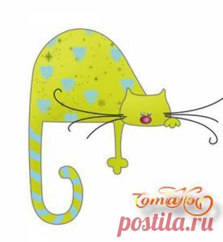 Кошки, котики, котята - картинки для творчества..