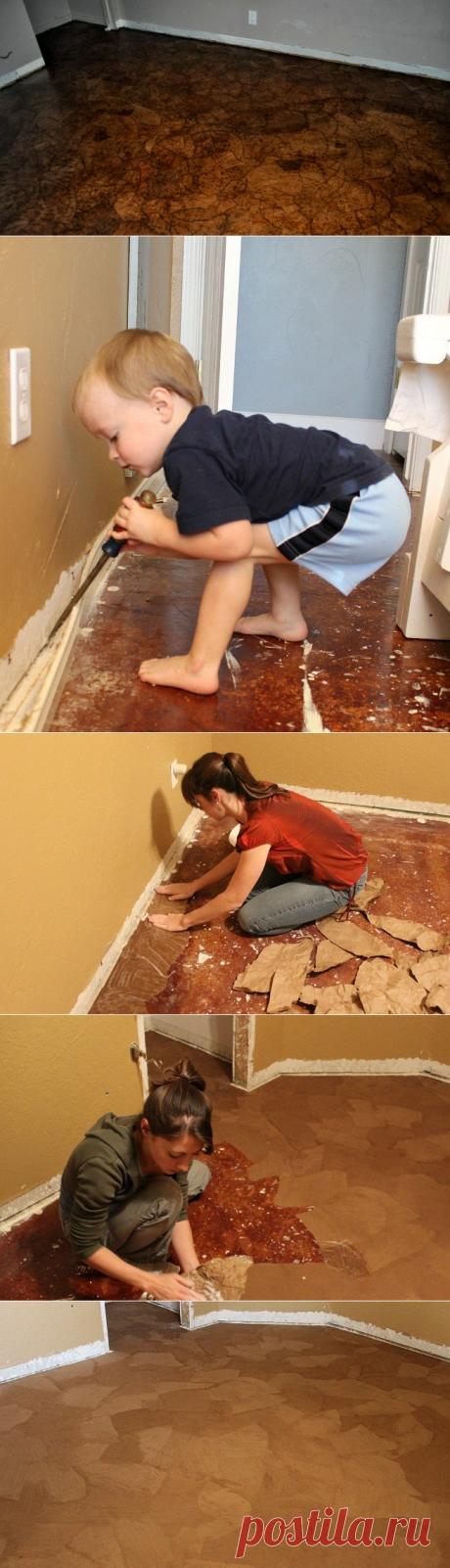 Como renovar el suelo sin gastos superfluos: ¡este secreto volverá tu representación sobre la reparación!