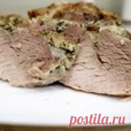 Запеченная свинина в фольге Кулинарный рецепт