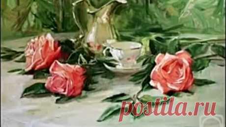 Три чайных розы.